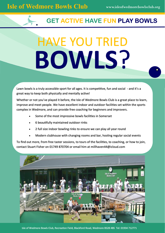 Free taster sessions poster